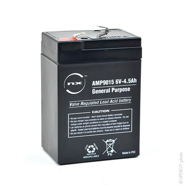 Batterie 6V 45Ah pour Hewlett Packard Philips Moniteur A1