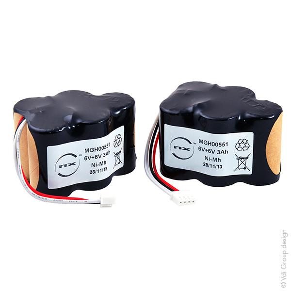 Batterie 6V 3000mAh pour Ecovacs Deebot D73