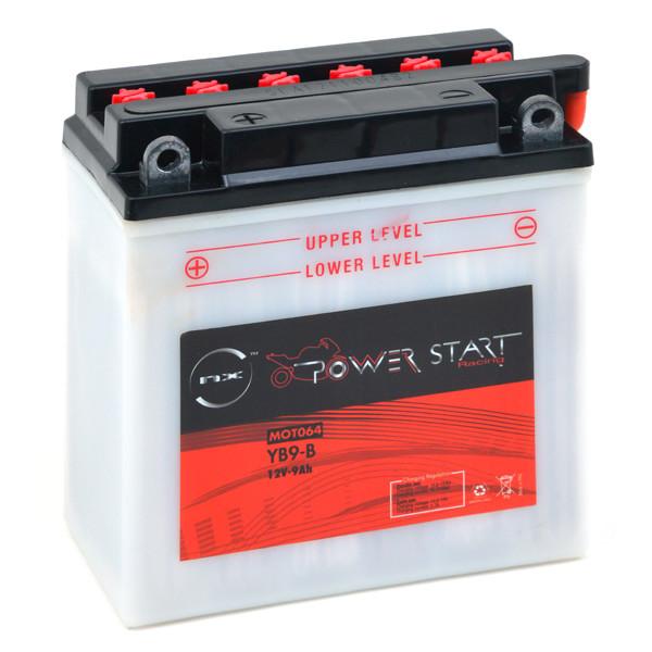 Batterie 12V 9Ah pour Gilera 125 VX 125 RUNNER 4T ETRIER HENGTONG 2002 2004