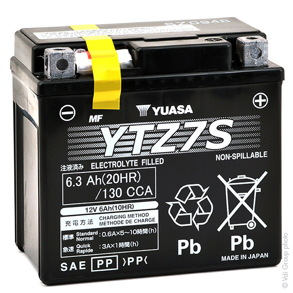 Batterie 12V 6Ah pour Husaberg 450 FE 450 ENDURO 2008 2011
