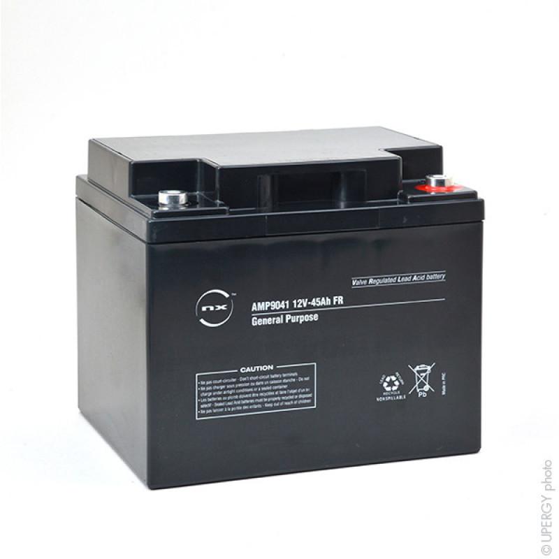 Batterie plomb AGM NX 45-12 General Purpose FR 12V 45Ah M6-F - AMP9041