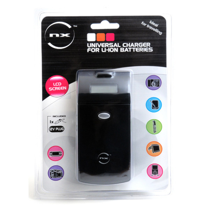 Chargeur universel batteries Li-ion /Nimh (photo/camera/téléphone portable/PDA...) - CEL9012