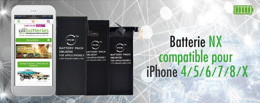 batterie pour iphone apple