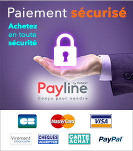 Paiement 100 sécurisé !